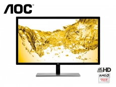 AOC launches new U2879VF 4K/UHD monitor with FreeSync