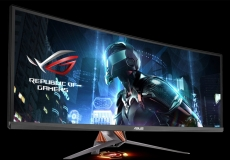 Asus ROG Swift PG348Q monitor in the shops