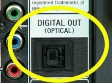 Optical audio cable dying out