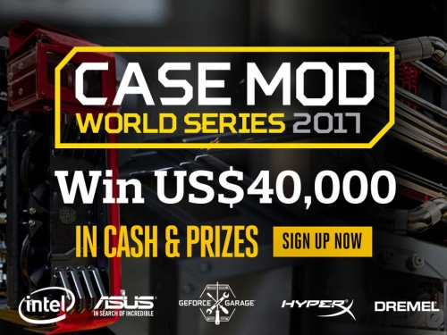 Cooler Master announces Case Mod World Series 2017