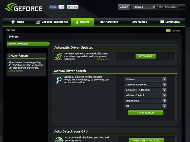 Game Graphics Driver Download