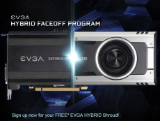 EVGA offers free shroud to Hybrid graphics card owners