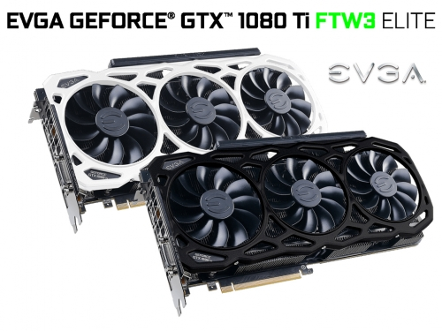 EVGA releases its GTX 1080 Ti FTW3 Elite