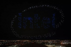 Intel drones at Super Bowl were not live