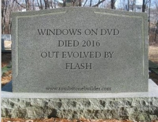Microsoft kills off the DVD
