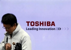 Japan's government bails out Toshiba