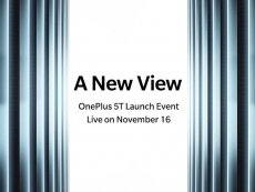 OnePlus to announce OnePlus 5T on November 16