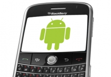 Blackberry moves to Android