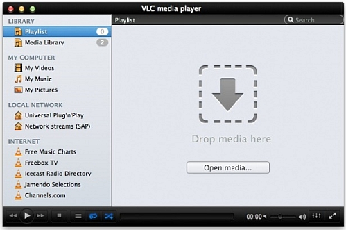 VLC 2 0 announced, Blu-ray support for Mac OS X 10 7 Lion