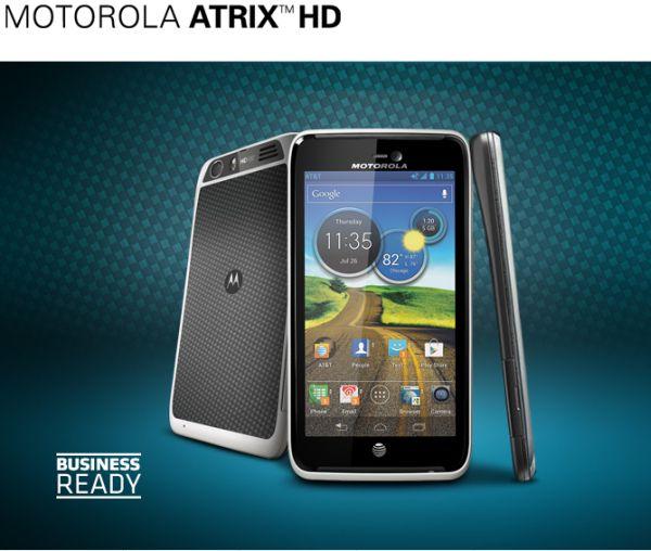 AT&T Motorola Atrix HD leaked
