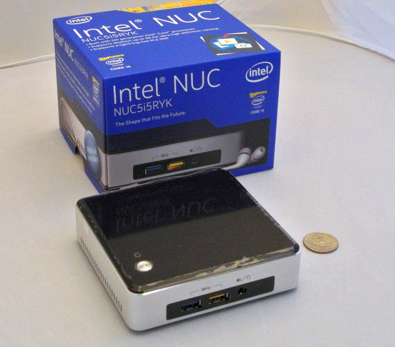 intel shows broadwell nuc barebones. Black Bedroom Furniture Sets. Home Design Ideas
