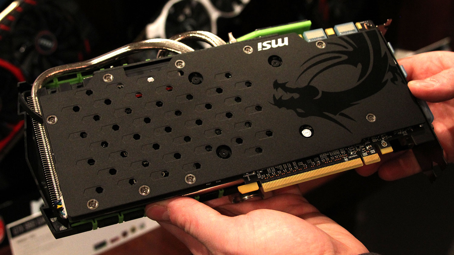 MSI shows two new GTX 970 graphics cards at CES 2015