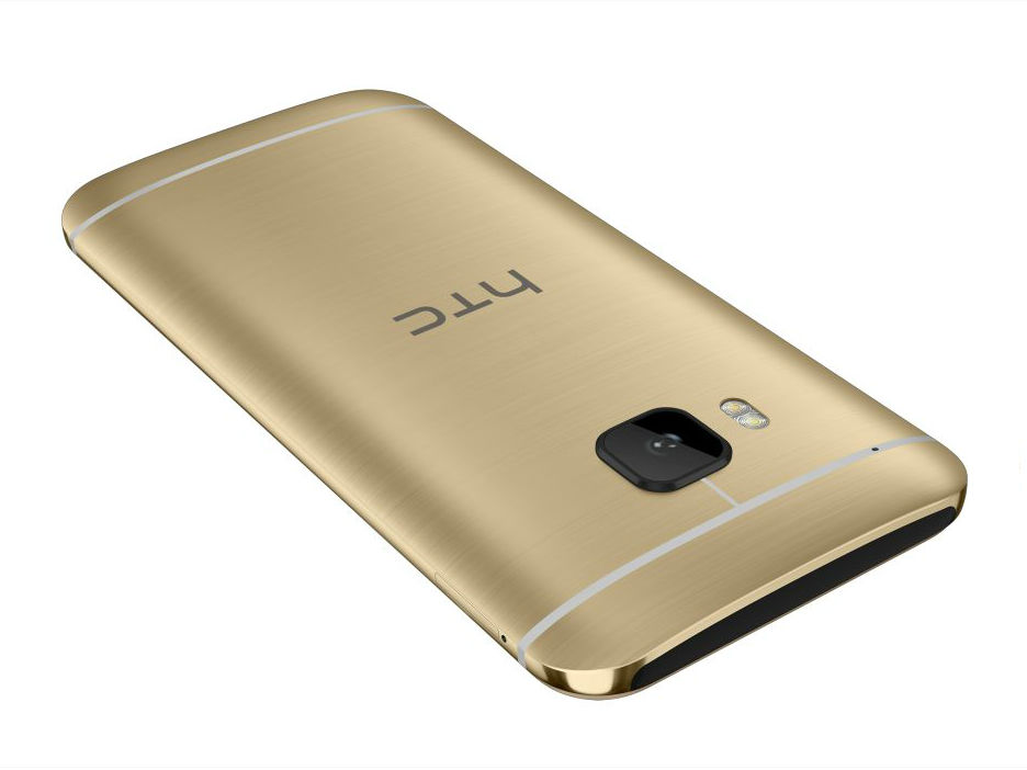 HTC One M9 Gold Back