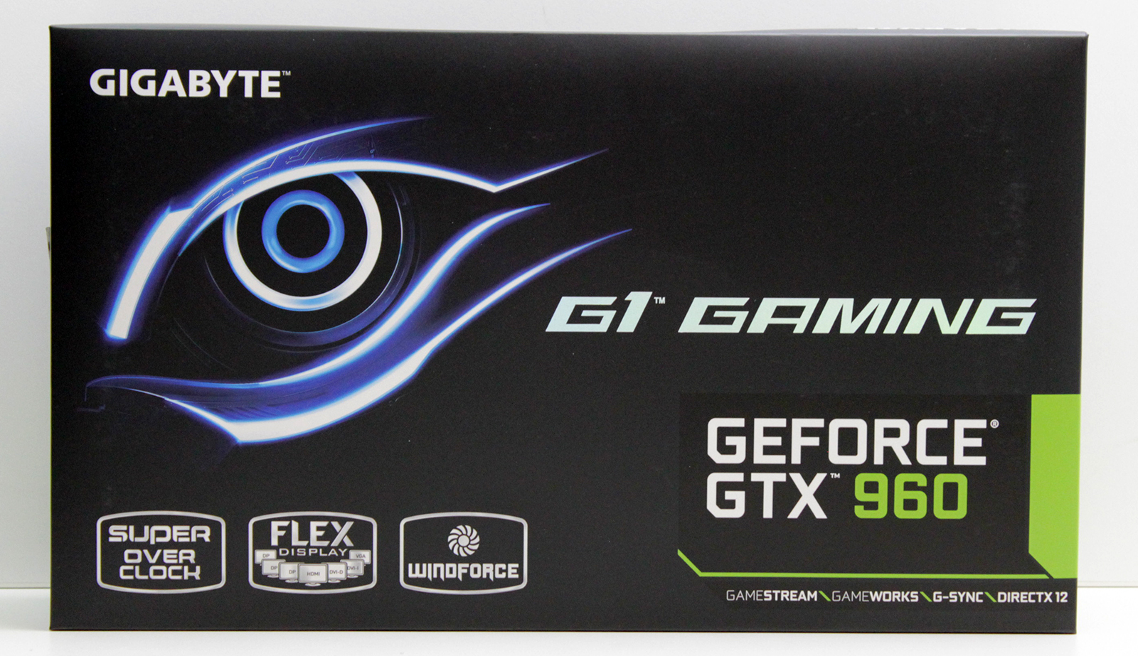 1 Gigabyte GTX 960 G1 Gaming box