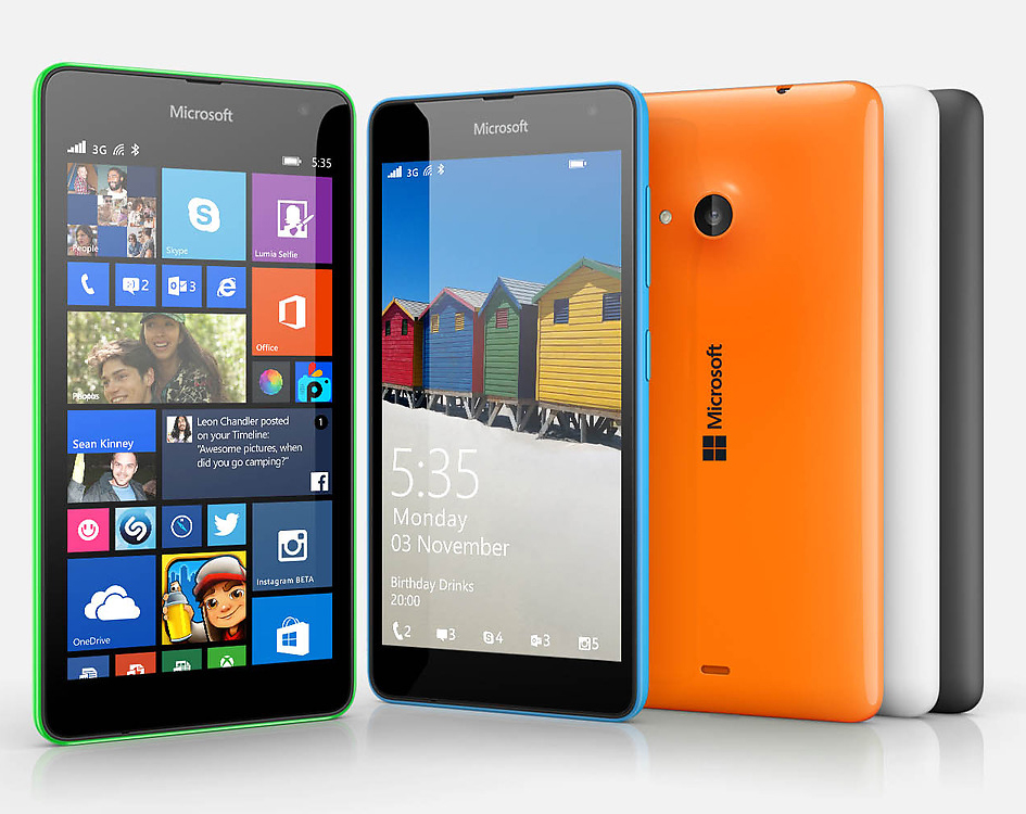 1 Lumia 535 colors