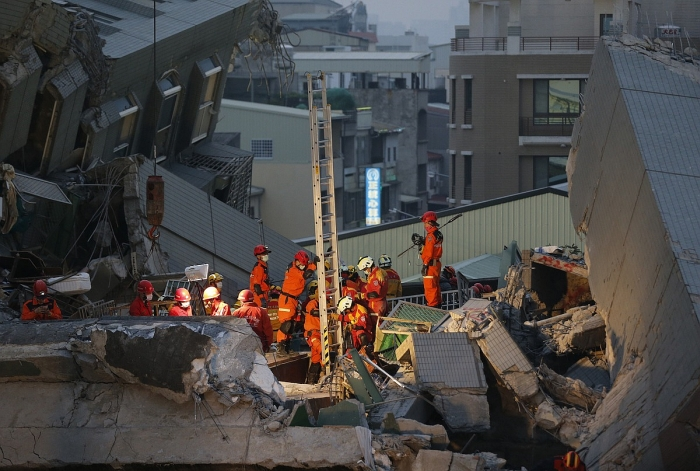 ap taiwan earthquake february 6 2016