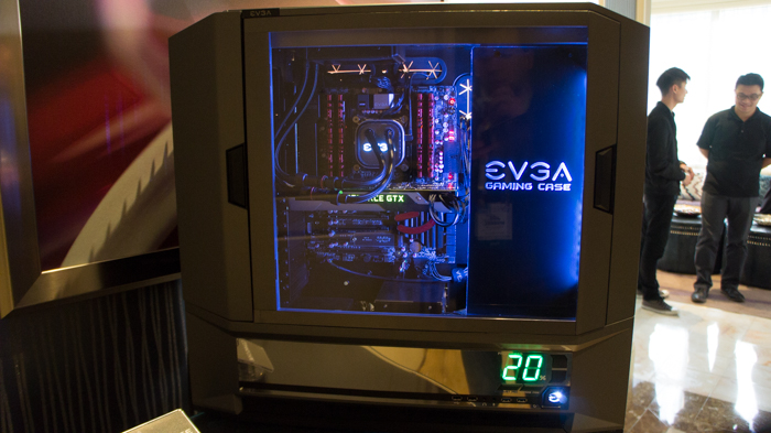 Evga Shows Off Prototype Full Tower Atx Gaming Case At Ces