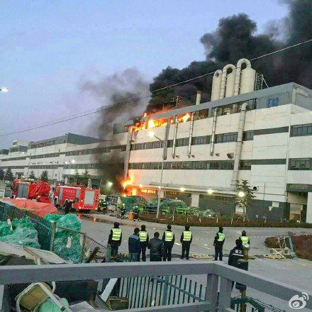 Foxconn Primary Iphone Manufacturing Plant Goes Up In Flames