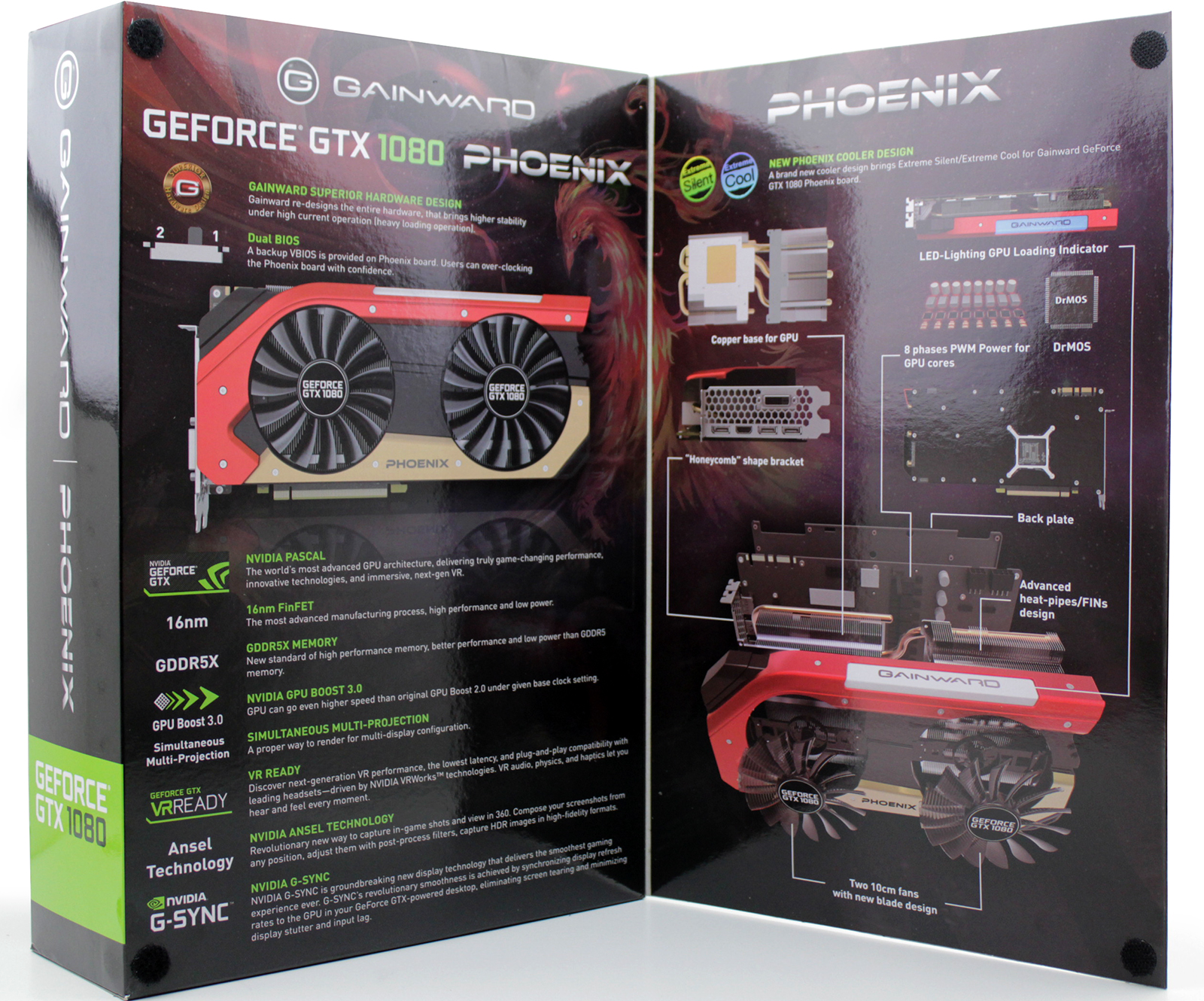 GTX 1080 Gainward GLH Box 2
