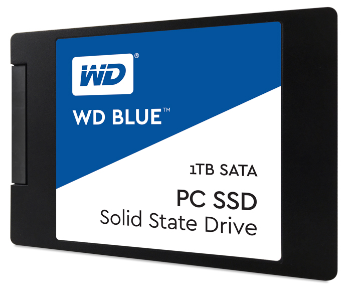 wd blue 1tb front
