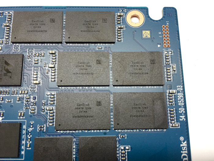 wd blue 1tb ssd pcb sandisk nand modules