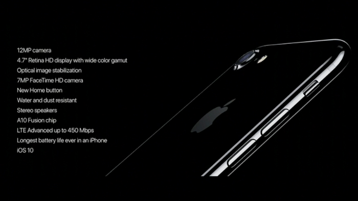 apple iphone 7 specs overview