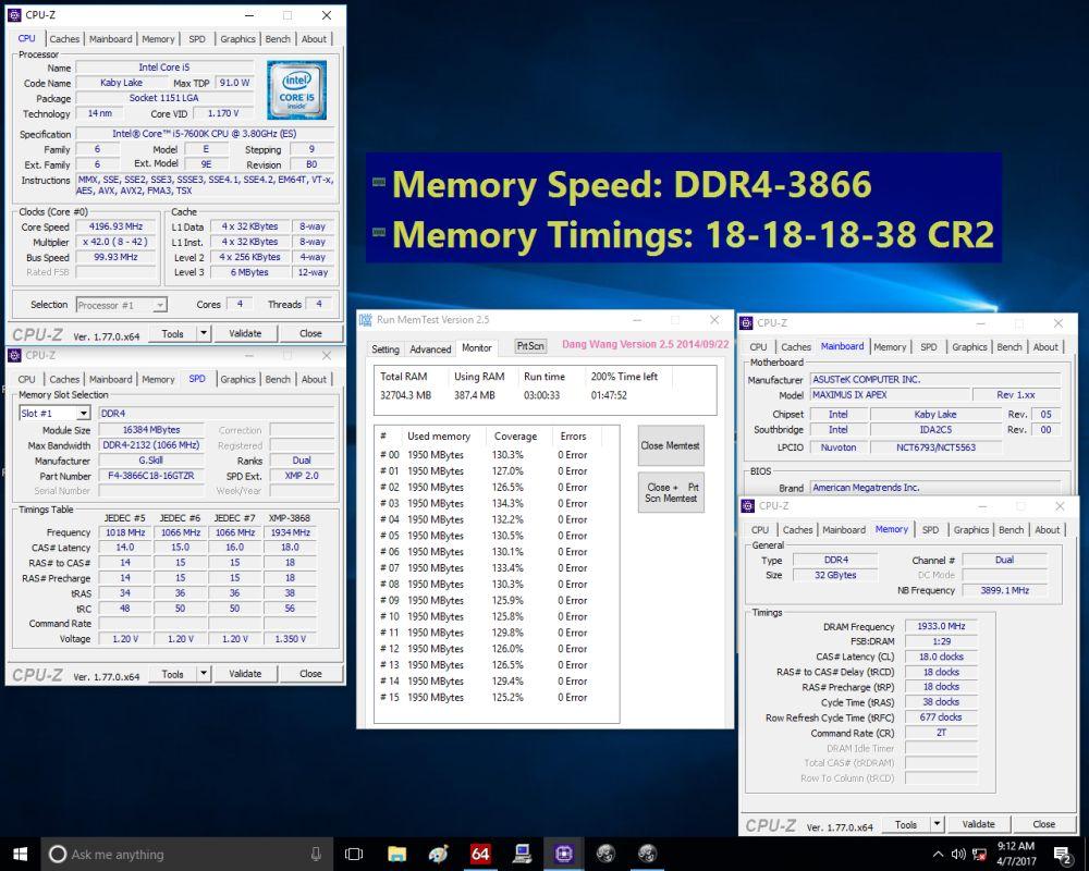 gskill tridentZRGB16GB 3