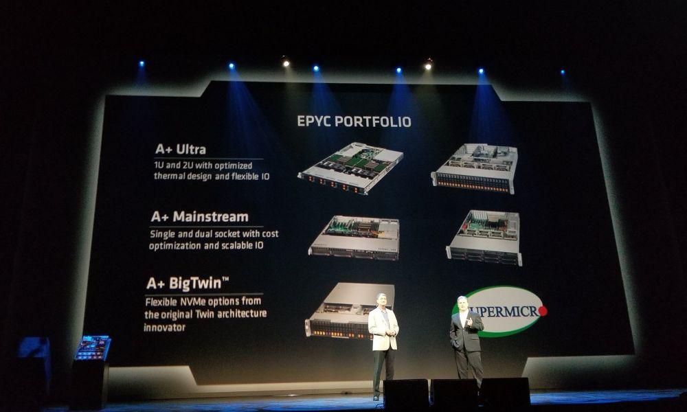 Supermicro goes EPYC