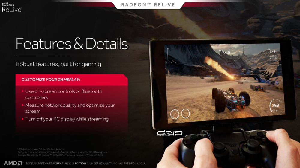 AMD rolls out Radeon Software Adrenalin 2019 Edition driver