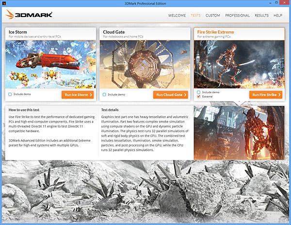 3DMark Fire Strike benchmark reviewed