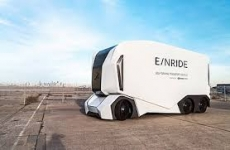 Driverless truck takes to the streets in Sweden