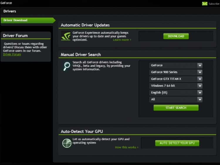 Nvidia releases Geforce 352 86 Game Ready WHQL driver