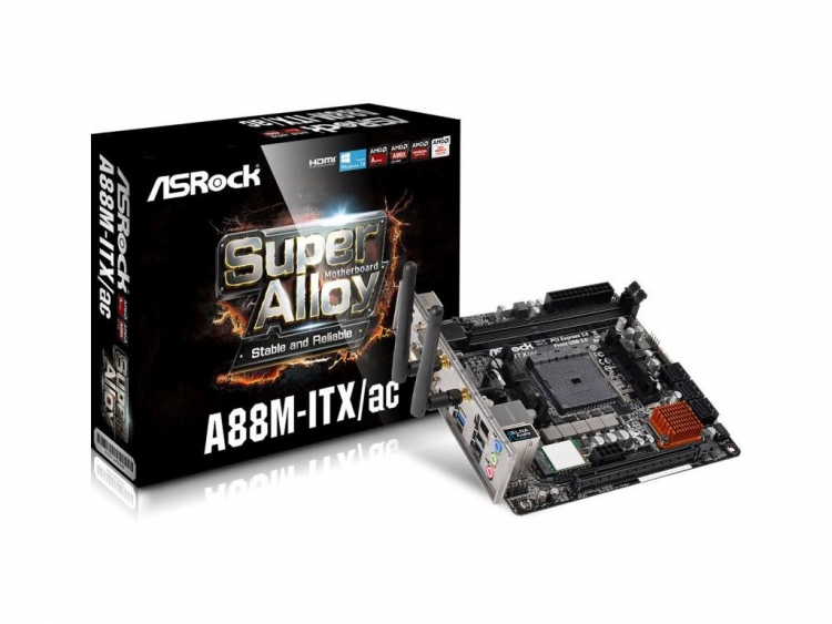 ASRock A88M-ITX/ac AMD Chipset Driver (2019)