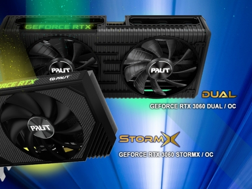 Palit announces its Nvidia Geforce RTX 3060 cards
