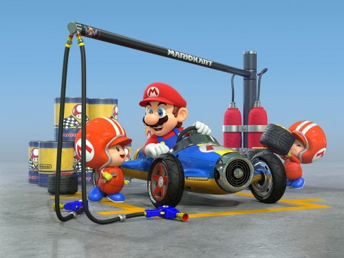 Mario Kart arriving on mobiles real soon now