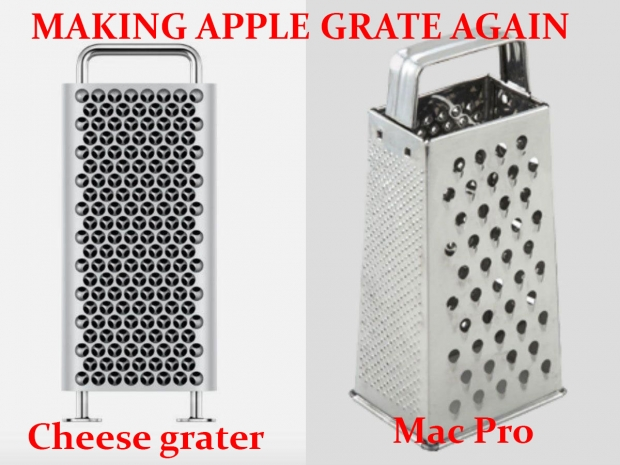 Apple comes up with a $6,000 cheese grater