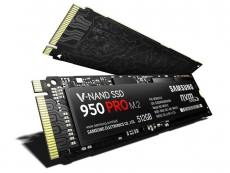 Samsung launches 950 PRO M.2 PCIe SSD