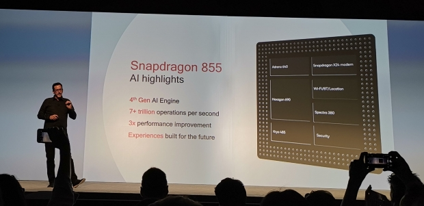 Snapdragon is twice the AI speed of its 7nm Android competitor