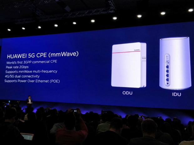 Huawei 5G phone to arrive in 2H 19