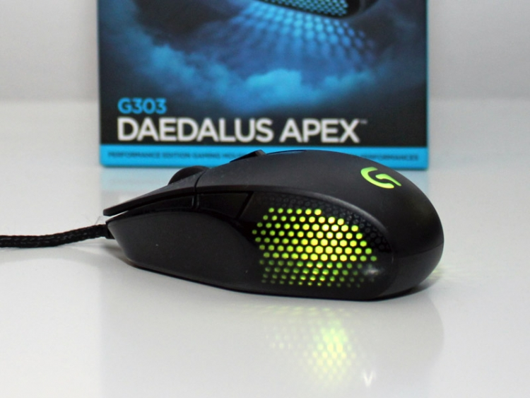 bf347c38306 Logitech G303 Daedalus Apex gaming mouse reviewed