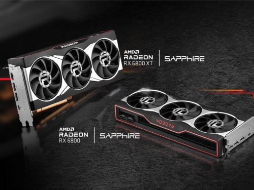 Sapphire shows its reference RX 6800 series cards