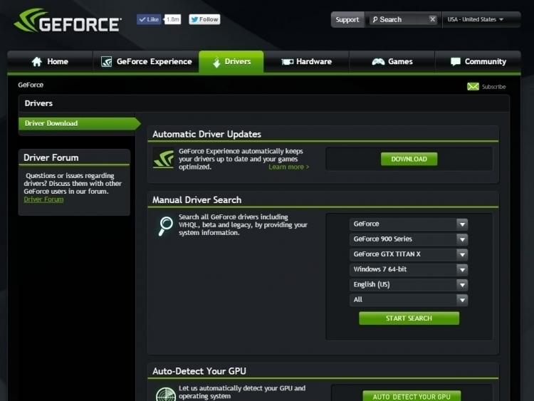 nvidia geforce 359.06