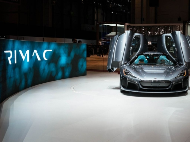 Nvidia Drive powers Rimac's C_Two high-tech features