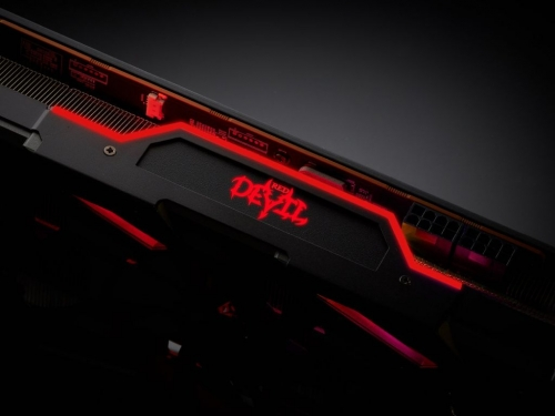 Powercolor RX 5700 Red Devil spotted
