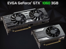 EVGA launches Geforce GTX 1060 3GB graphics cards