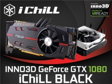 Inno3D announces GTX 1080 iChill Black Edition