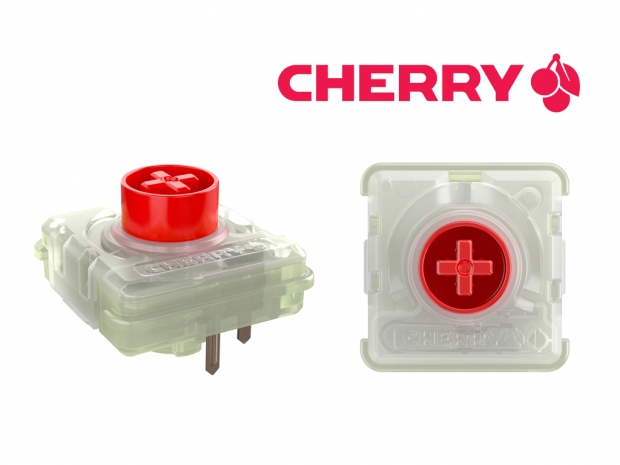Cherry announces MX RGB low-profile switches