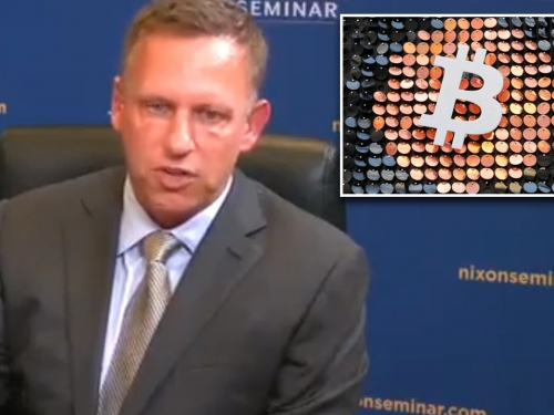 Thiel claims that bitcoin is undermining the US dollar