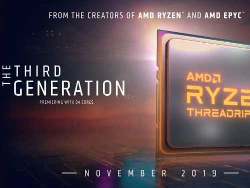 AMD confirms 3rd gen Threadripper is launching in November