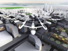 Uber talks about flying taxis